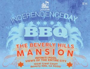 Chai Center 4th of July BBQ @ Beverly Hills Mansion