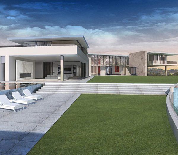 הבית היקר ביותר באמריקה : 500 מיליון דולר בבל אייר
