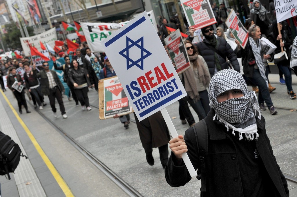 AUSTRALIA-GAZA-ISRAEL-PROTEST  אי־אף־פי
