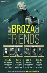 DAVID BROZA @ The Broad Stage