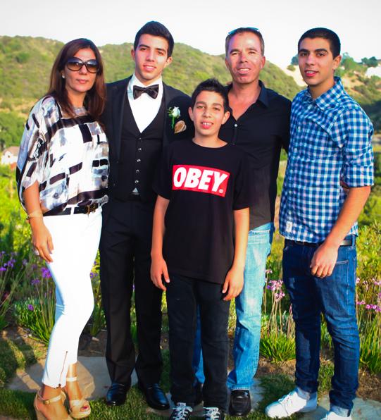 משפחת אבן חיים. תרומה של 1.2 מיליון דולר