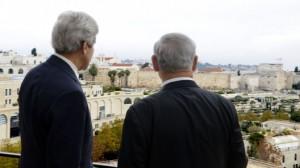 נתניהו ומזכיר המדינה קרי בירושלים. מצפון תיפתח הישועה?
