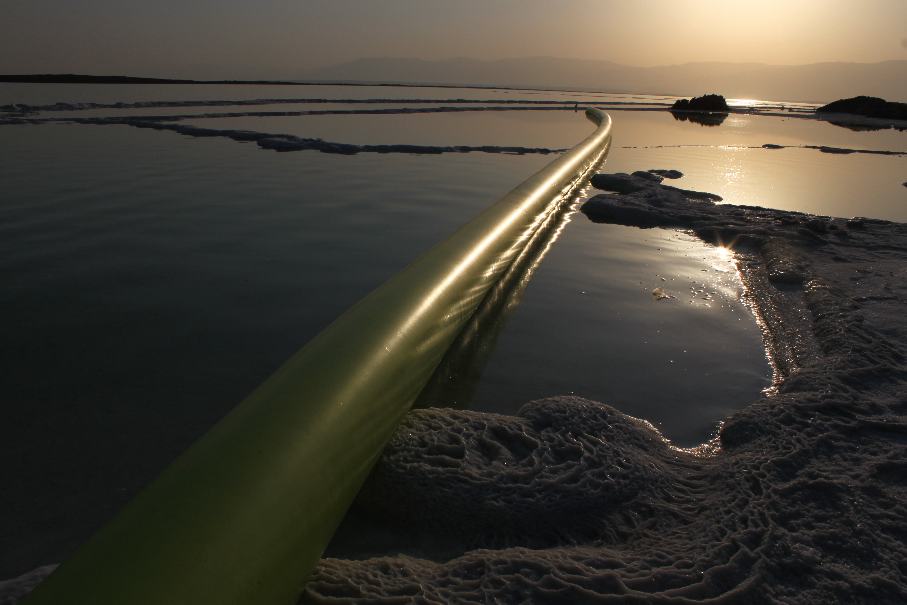 Line in the Dead Sea