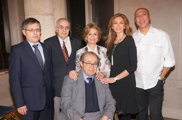 Meir-Litvak-David-Menashri-Pouran-Nazarian-Dora–Neal-Kadisha-with-Parviz-Nazarian-seated