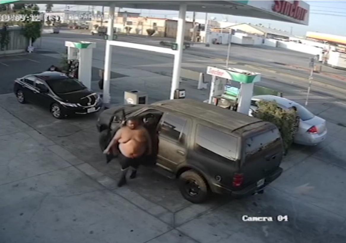נעצר החשוד שתקף אישה בתחנת דלק