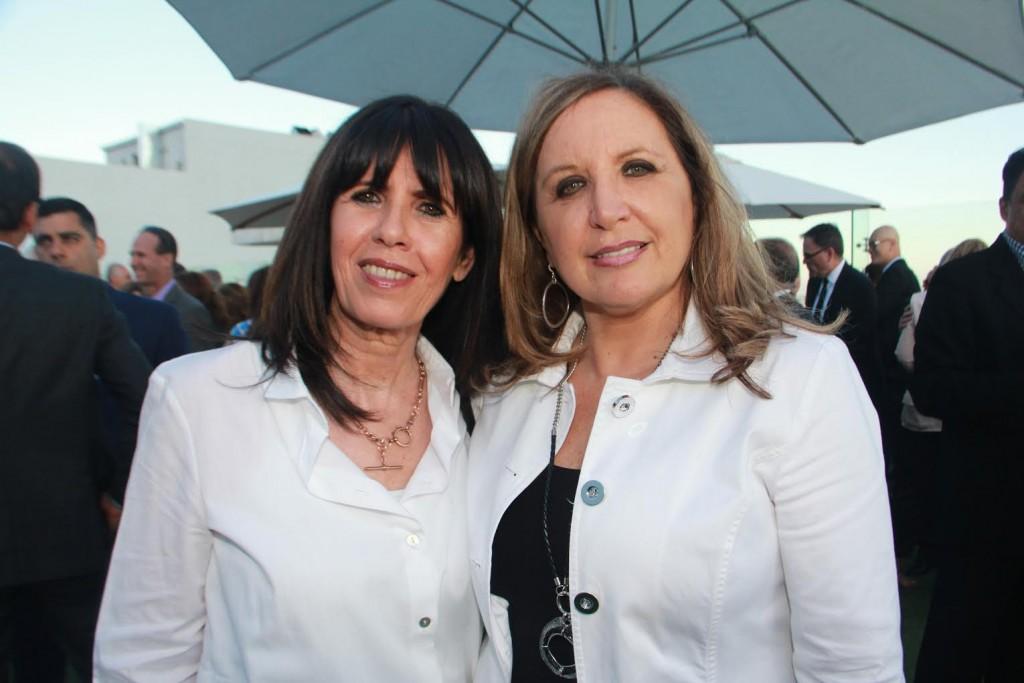 מרים ויצמן ואהובה קורן, שהייתה פעילה בויצו לוס אנג׳לס
